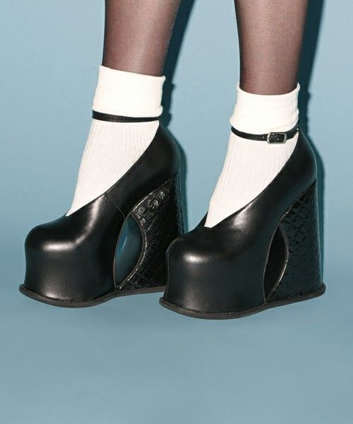 QUILTED HEEL WEDGE(パンプス)|PAMEO POSE(パメオポーズ)のファッション通販 - ZOZOTOWN