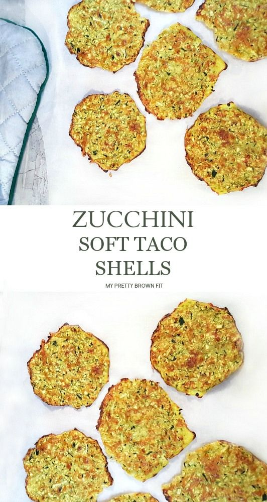 Healthy and easy to make Zucchini Soft Taco Shells! They are carb-free, delicious, and they make the perfect healthy swap with traditional tortilla shells. {vegetarian-friendly} MyPrettyBrownFit.com