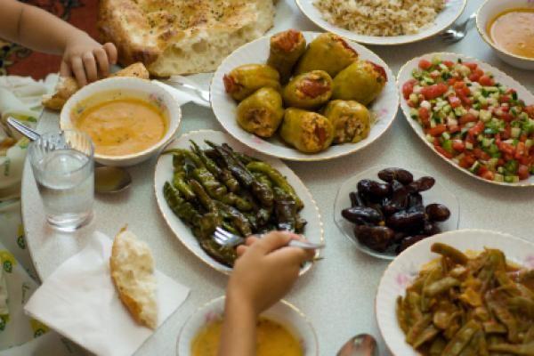 Ramadan Feast in Turkey