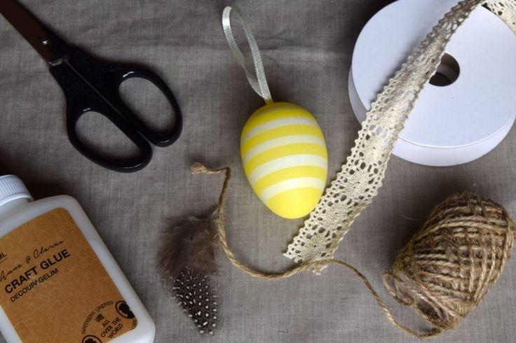 Pynt egget til Påske | Dora Dekorasjon