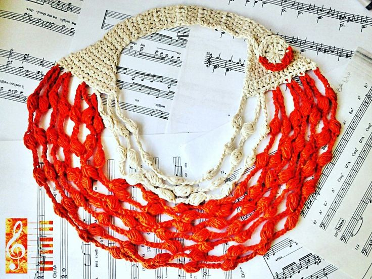 10$ necklace crochet