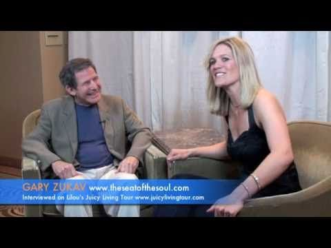 Gary Zukav candid interview about his spiritual partnership journey~in Los Angeles, CA on the Lilou's Juicy Tour show