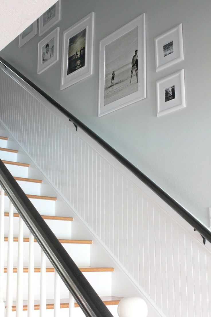 Photo Placement on Stairway