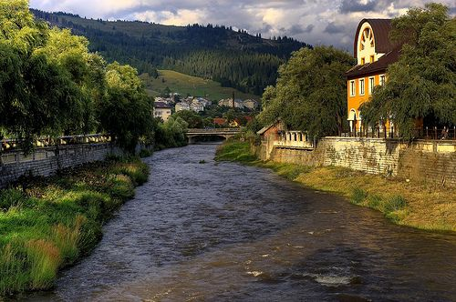 Vatra Dornei is a city with almost 16,500 inhabitants, located in Suceava County, in northeastern Romania. The municipality lies at the confluence of the Golden Bistrita and Dorna, the northern Carpathians. The city is known since the nineteenth century as a resort for practicing winter sports.        Transport:         Vatra Dornei is 105 km away from Suceava, 40 km from Campulung Moldovan, 85 km from the city of Bistrita.   http://www.discoverthetrip.com/city/vatra-dornei.html