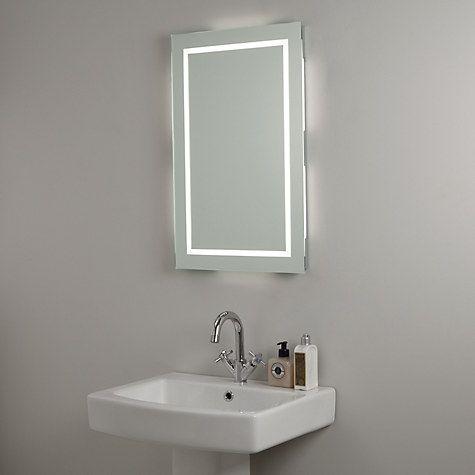 Buy John Lewis LED Frame Illuminated Bathroom Mirror Online at johnlewis.com