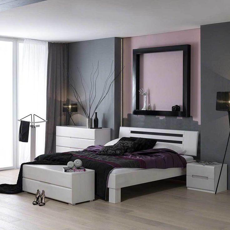 Die besten 25+ Massivholzbett Ideen auf Pinterest Holzbetten - schlafzimmer massiv komplett