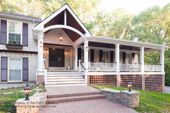 Roof Design Ideas: 55 Best Images About Porch Roof Designs On Pinterest