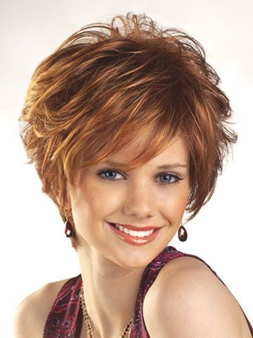 Love this look, but since it's from a wig catalog, I doubt I could achieve it. Hmm... unless I buy a wig...