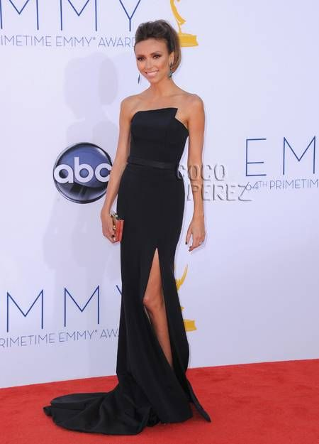 Giuliana Rancic in Romona Keveza.: Fashion, Emmys Red, Red Carpet, Giuliana Rancic Obsessed, Best Dressed, 2012 Emmys Gorgeous