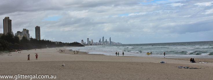 Australia'a Surfer's Paradise coastline!