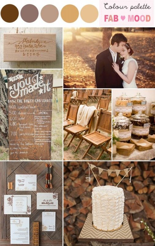 Rustic wedding color scheme,rustic wedding color palettes – Rustic wedding color scheme I love the sort of down home rustic look for weddings that many brides are choosing these days. For rustic wedding color scheme, This palette i used shades of brown like caremel, pecan into the palette. It created a warm  and romantic atmosphere that's perfect for a rustic wedding. The greatest thing about choosing a rustic wedding theme is that you can really let your creative side shine and ...