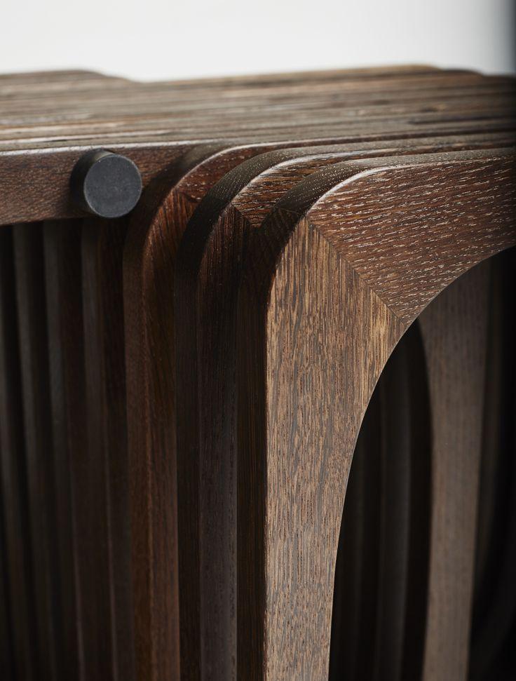 Smoked oak. #Wood #handmade  http://www.kjeldtoft.com/
