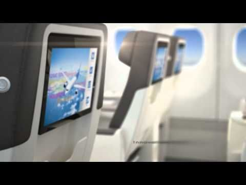 Discover Air Transat's new cabin - YouTube // I always fly club class and the new cabin design makes it even more worth it.