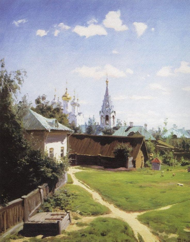 pintura Vasiliya Polenova - 10