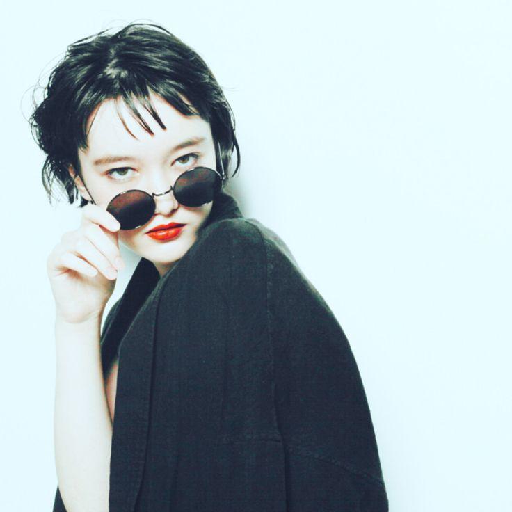 芦原 照成さんのヘアカタログ | 大人かわいい,アッシュ,パーマ,前髪 | 2016.08.14 19.03 - HAIR
