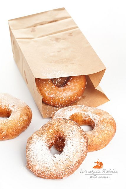 These remind me of making homemade donuts with my great grandma Etta! She'd fry them and the kids would shake them in a bag filled with cinn/sugar