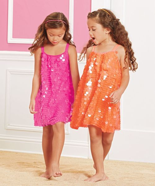 girls fancy sequins dress