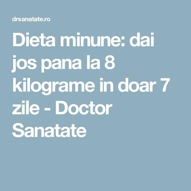 Dieta minune: dai jos pana la 8 kilograme in doar 7 zile - Doctor Sanatate