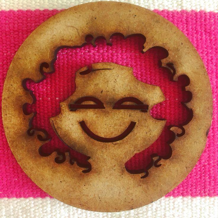 Smile! Lasercut made by nadinevangameren.nl