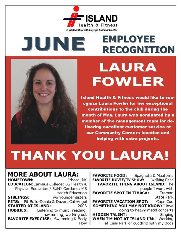 congratulations to our laura fowler for earning our