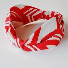 cotton fabric headband with elastic DIY