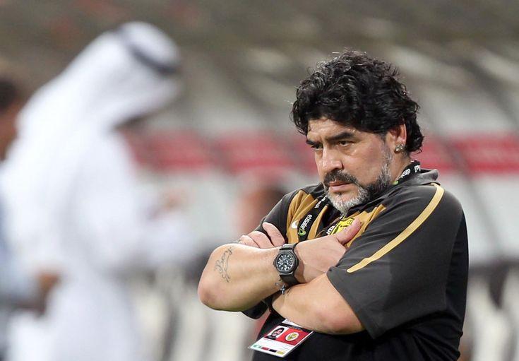 Maradona entraineur après sa retraite en tant que footballeur#Entraineur#NouvelleCarrière#Number10#9ine @Maradona