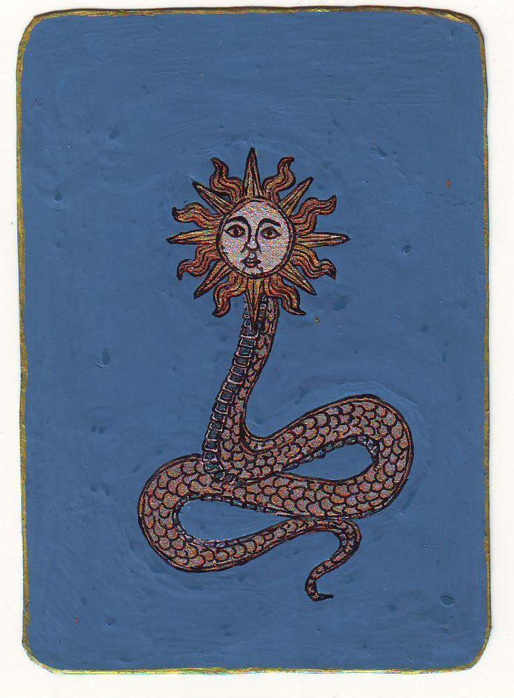 Napfejű kígyó, 2008 Részletes cikk: A talizmánok működési elve, http://astroconsult.ingyenblog.hu/amulettek-talizmanok-sigillumok-2.blog