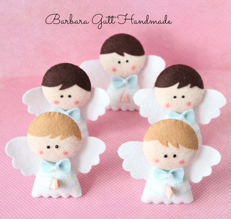 Barbara Handmade...: Anielska drużyna / The Angels`team