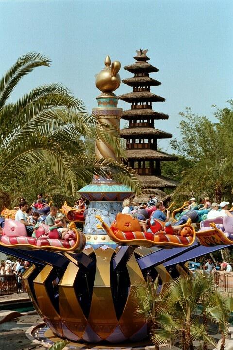 Magic carpets of aladdin disney world magic kingdom for Aladdin carpet ride magic kingdom