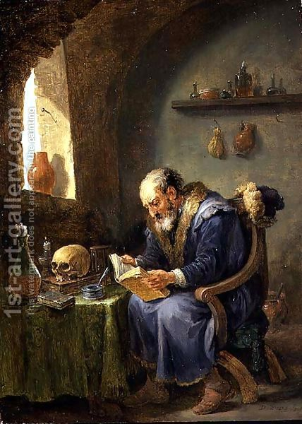David The Younger Teniers The Alchemist