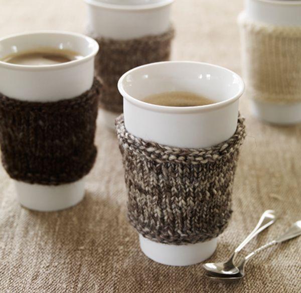 Fundas de punto para tricotar estos días lluviosos y fríos que no apetece salir de casa nada, a no ser que sea necesario.