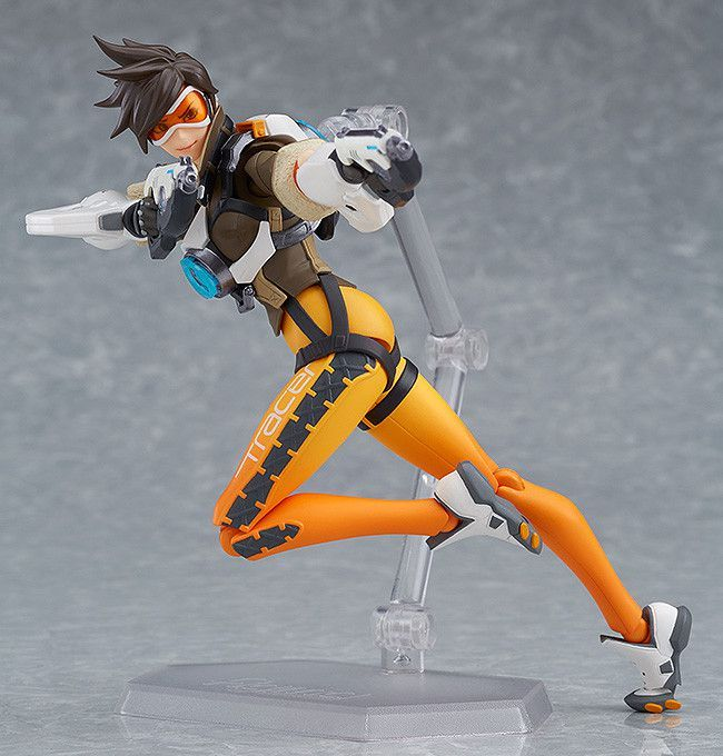 Figma 352 Game OW Tracer Action Figure Game OW 14cm PVC Toy New In Box HOT