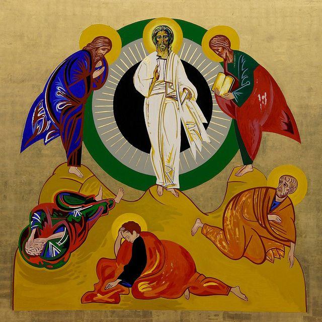 La transfiguración del Señor, de Kiko Argüello La Transfiguración nos invita a abrir los ojos del corazón al misterio de la luz de D...