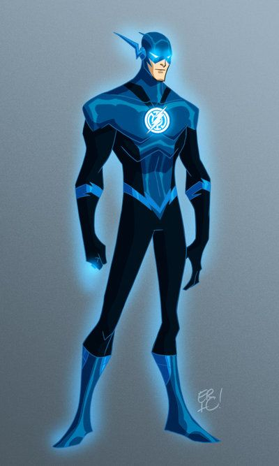Blue Lantern Flash by *EricGuzman on deviantART