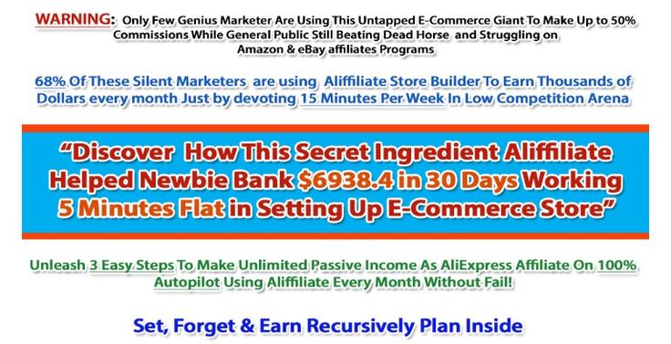 Aliffiliate Store Plugin – A Month +$6938.4 Working 5 Minutes Flat in Setting Up E-Commerce Store by Using This Secret Ingredient Aliffiliate  Check Detail: http://www.releasedl.com/aliffiliate-store-plugin-review-and-download/
