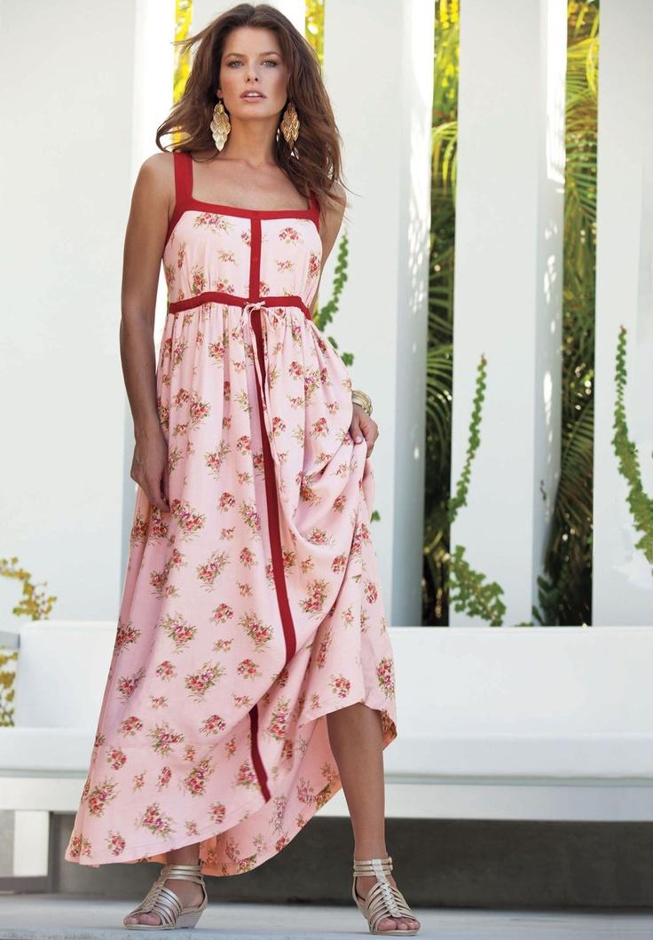 Mejores 69 imágenes de Size Plus Maxi Dresses en Pinterest | Moda ...