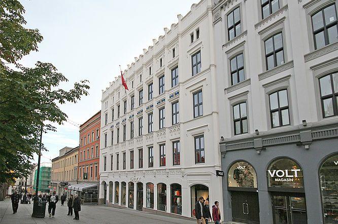 Comfort Hotell, Karl Johansgate, Oslo: fasadepersienner og automatikk. vintblendex.no/prosjekter/comfort-hotell-karl-johansgate-12/