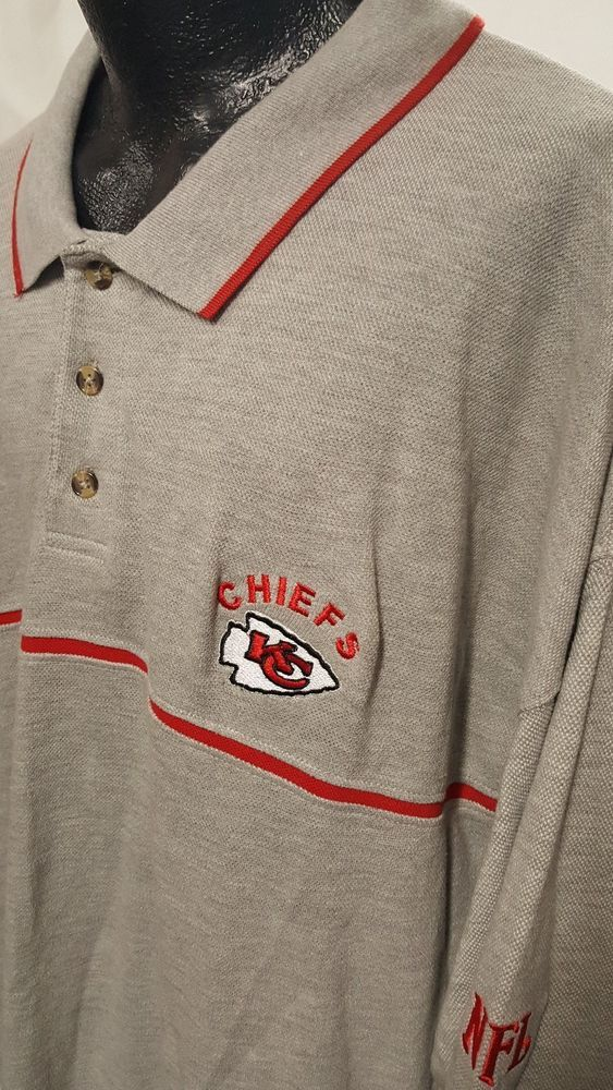 online store 89166 f17ca Details about Kansas City Chiefs Mens Big Tall Size Large ...