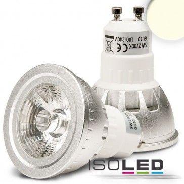 GU10 LED Strahler ColorME, 5W COB, neutralweiss, dimmbar / LED24-LED Shop