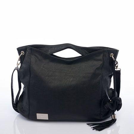 The Nova Harley Boho changing bag in a classic Black from LollipopLane.co.uk! #changingbag #babybag