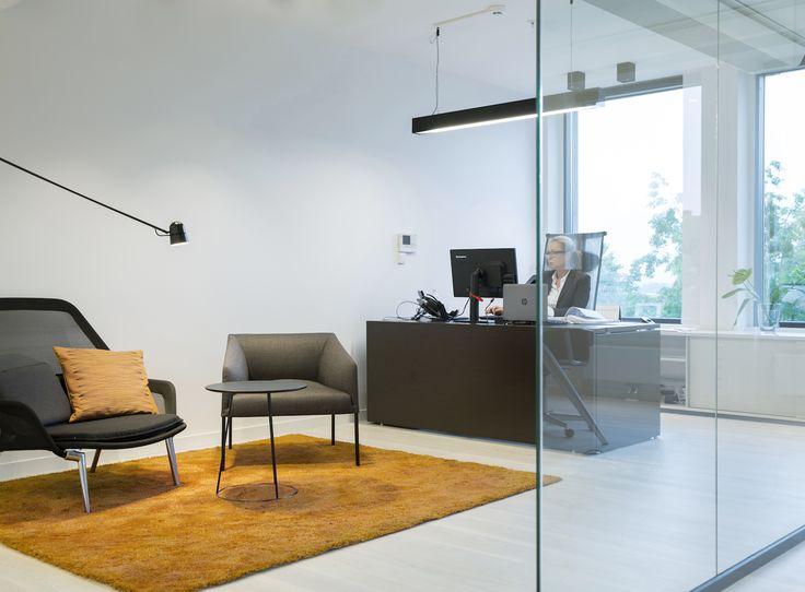 Moderne kontorlokaler, Oslo - Nyfelt og Strand Interiørarkitekter