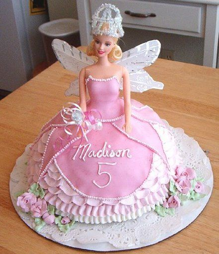 Cute Barbie Cake Images Dmost for