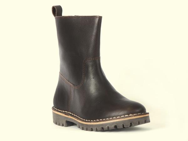 NR.8 low boot dakbrown