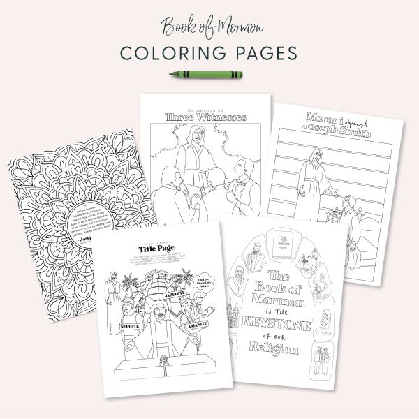 Come Follow Me 2020 Subscription Coloring Pages In 2020 With