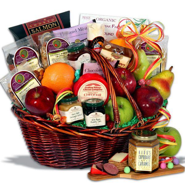 Bountiful Harvest™ - Fruit Gift Basket