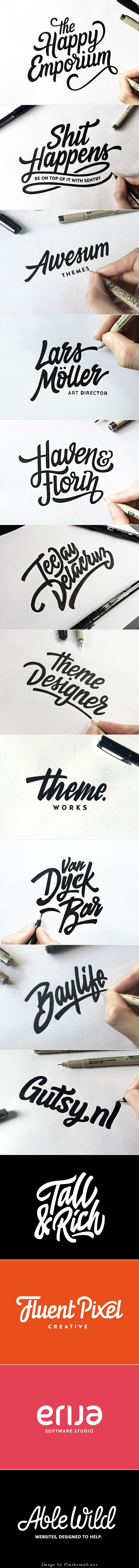 Lettering & Logotype Vol.2