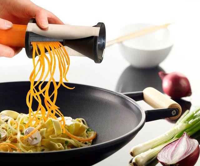 Spiral Vegetable Slicer | DudeIWantThat.com