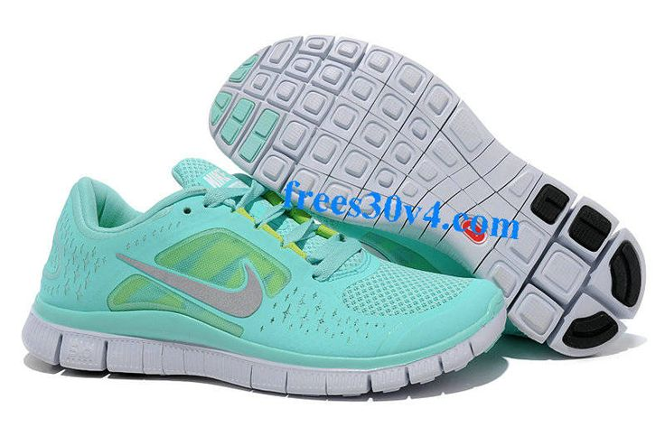Womens Mint Green Nike Free Run 3  Pop of purple. And cheetah! These are beyond perfect for me! #nike #shoes