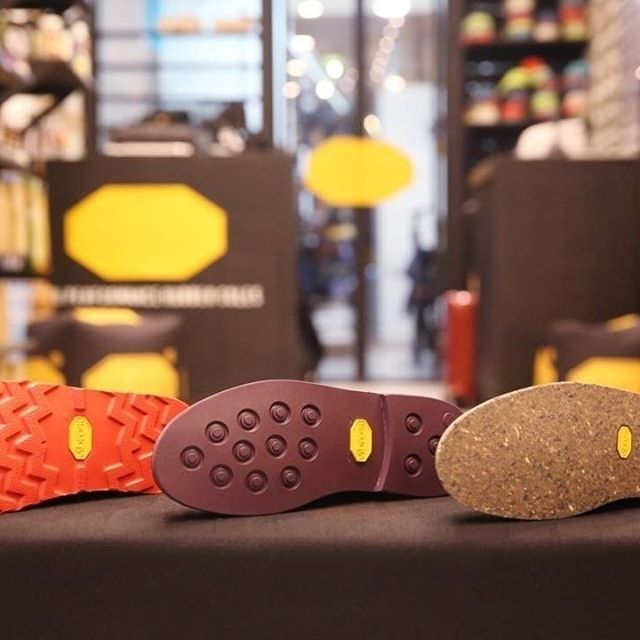 In the @vibramparisacademy you can find #cristy in newflex compound, #eton in xscity, #portocervo in ecostep and many other #VibramSoleFactor high performances soles! Meet us at 20, Rue des Petits-Champ and resole your shoes! #VibramAcademy #SoleFactor #VibramParisAcademy #cobbler #cobblers