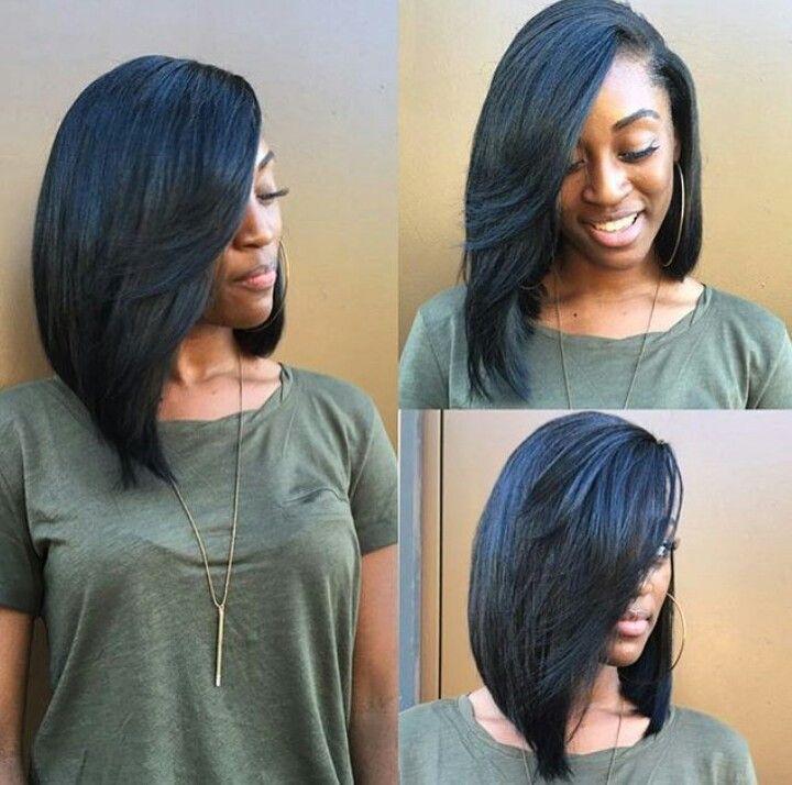 Black girl bob hairstyles : Best 25 Bob sew in ideas on Pinterest Weave bob hairstyles